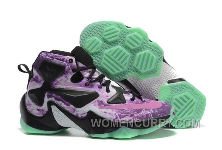 "https://www.womencurry.com/lastest-nike-lebron-13-galaxy-purple-black-glow-in-the-dark-basketball-shoes.html NIKE LEBRON 13 ""GALAXY"" PURPLE BLACK GLOW IN THE DARK BASKETBALL SHOES CHEAP TO BUY Only $88.02 , Free Shipping!"