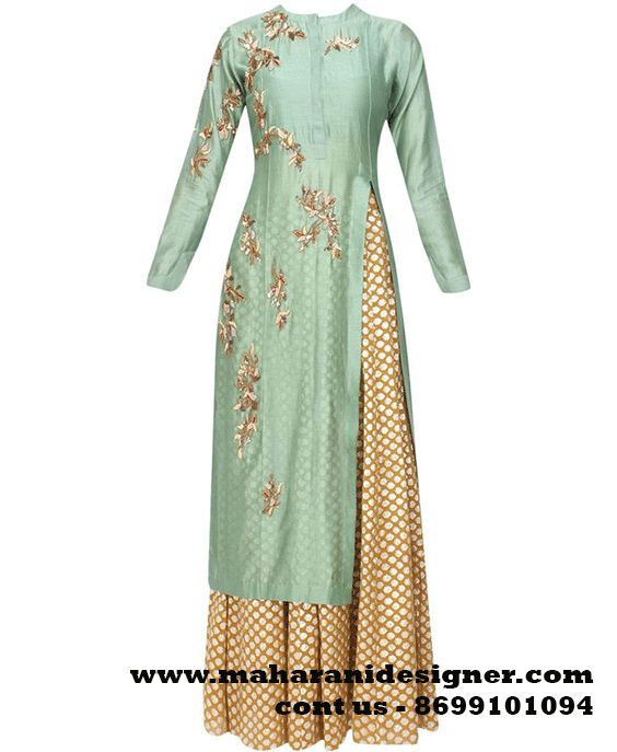 #Beautifultrendyplazosuit #LatestHeavyEngagementlPlazosuit #Partywearplazosuit #Beautifulplazosuitonline Maharani Designer Boutique To buy it click on this link http://maharanidesigner.com/Anarkali-Dresses-Online/pajami-suits-online/ Rs-8300 Fabric-Brocate&Georgette Hand work For any more information contact on WhatsApp or call 8699101094 Website www.maharanidesigner.com Maharani Designer Boutique.