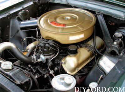 Ford small block engine parts interchange specifications 2 for Ford mustang motor sizes
