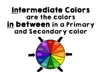 Best 25 Intermediate Colors Ideas On Pinterest