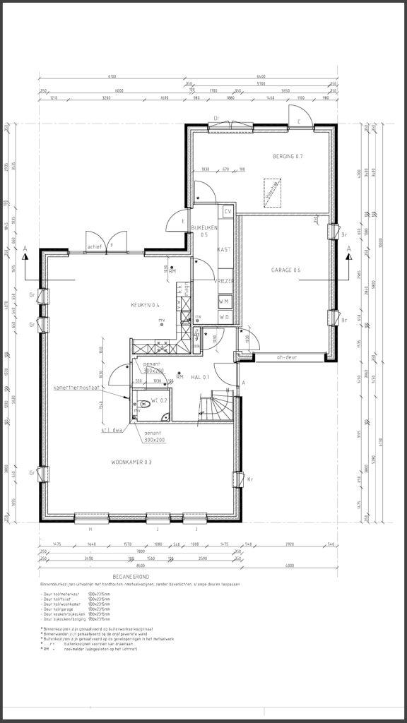 Bouwtekening maken alles over bouwtekeningen pinterest for Badkamer tekenen programma
