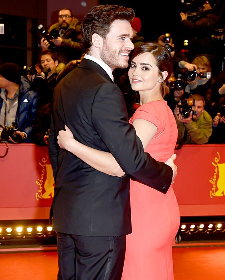 I didn't know Richard Madden was dating Jenna Coleman! They just might be my new favorite couple!