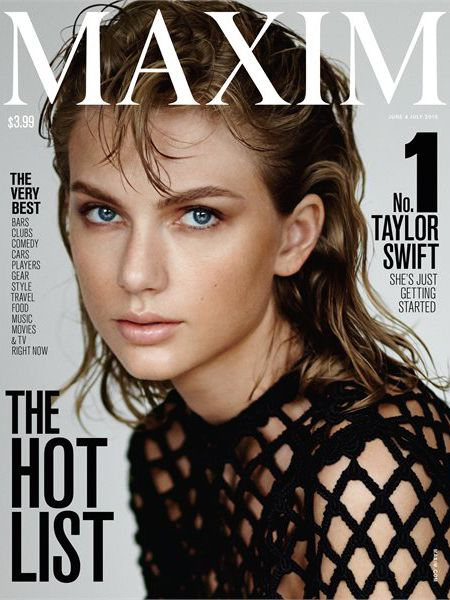Taylor Swift Lands 'Maxim' Cover, Explains Why Feminism Is the Most Important Movement