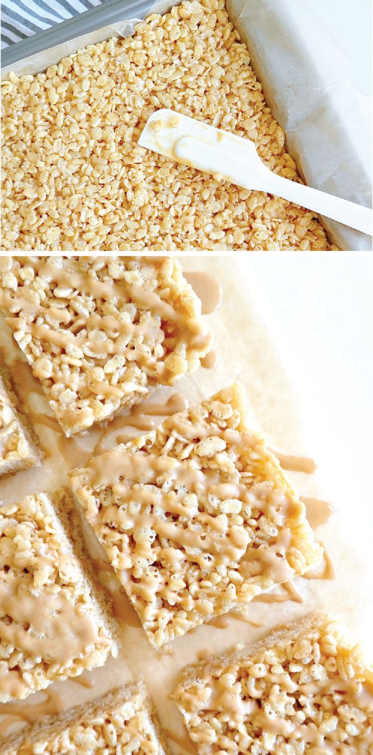 What could be better than a classic Rice Krispies Treat®? Try out these Peanut Butter Caramel Rice Krispies Treats®! Indulgent and sweet flavors come together to create the ultimate dessert recipe. Check out this article to learn more about this tasty snack.