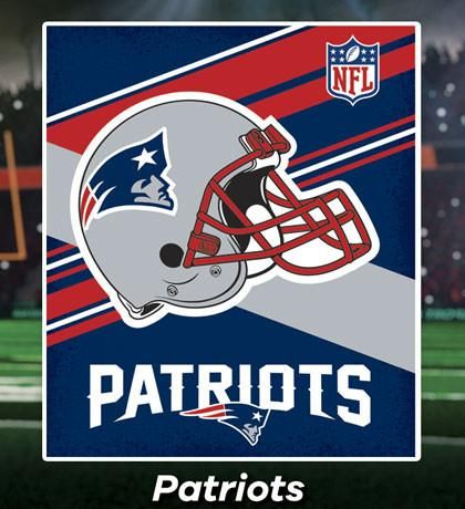 Cobertor Ligero NFL Patriots