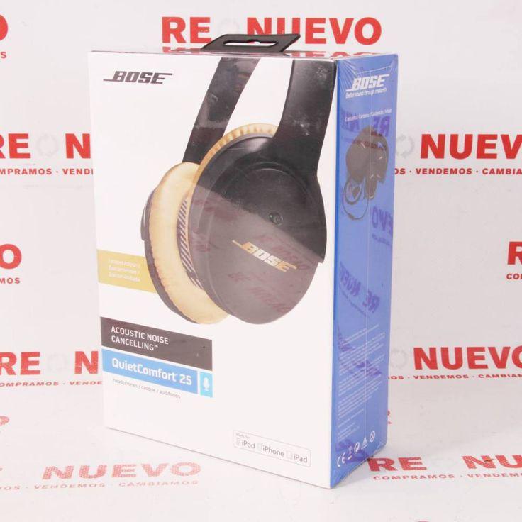 Comprar Cascos BOSE QUIET COMFORT 25 ED. LIMITADA NUEVO Precintado E295550 | Tienda online de segunda mano #Bose #Auriculares #Música #segundamano