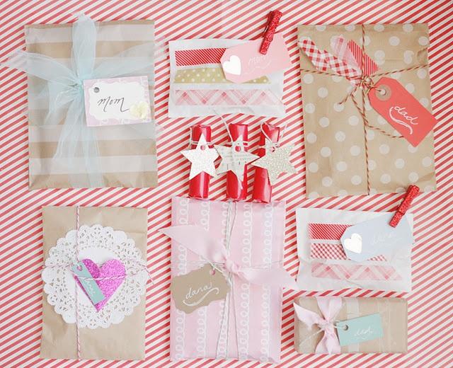 Rinse. Repeat. gift wrap.Christmas Diy, Christmas Giftwrap, Gift Wrapping, Gift Packaging, Diy Gift, Gift Wraps, Christmas Ideas, Pretty Packaging, Snails Mail