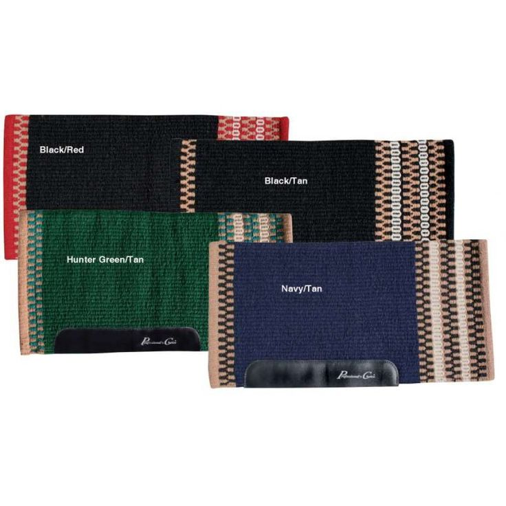 PROFESSIONALS CHOICE NAVAJO PAD WITH WEAR LEATHERS  A great pad for everyday use.   $134.95