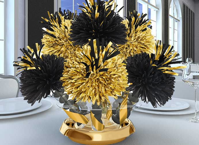 Best gold black party decor images on pinterest