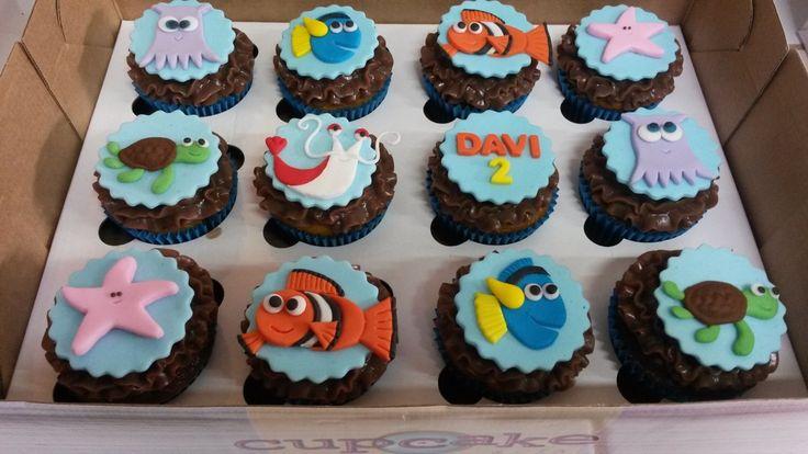 20 ideias para você usar na sua festa Procurando Nemo – Cupcake&Cia