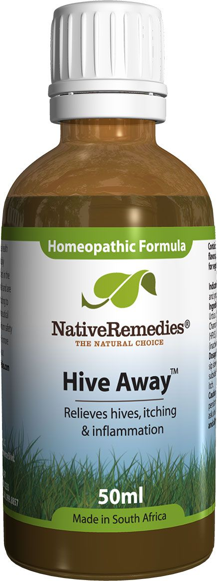 Hive Away™ - Homeopathic remedy to temporarily relieve symptoms of poison ivy, such as itching and redness