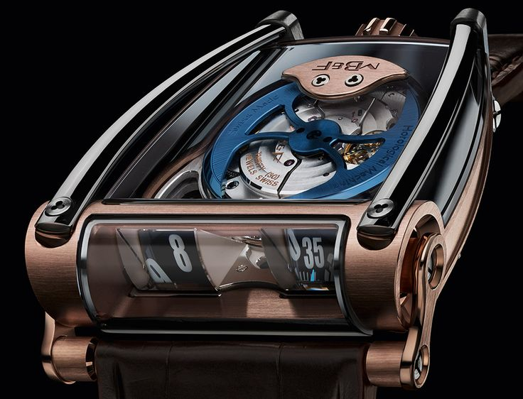 "MB&F HM8 Can-Am Watch - by Zen Love - See what new craziness MB&F presents this time on aBlogtoWatch.com ""As a leader in controversial, avant-garde Swiss haute horology, MB&F has set the bar high for shocking wrist-art releases. So a new Horological Machine from MB&F is always kind of an 'event' in the watch world, and today we greet the MB&F HM8..."""