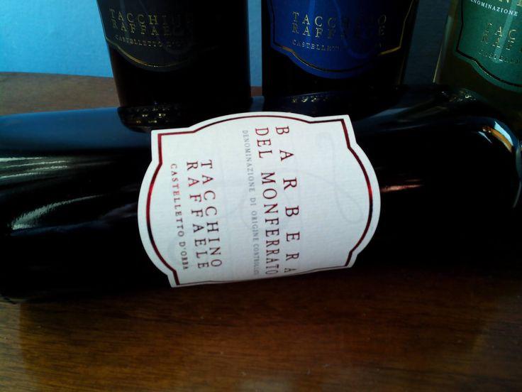 barbera del monferrato Doc: red  wine from Piedmont www.tacchinovino.it