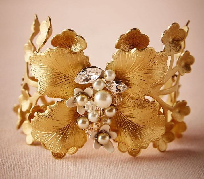 $289 - Arboreta Bracelet | The perfect Bohemian accessories you should have in your wedding day.
