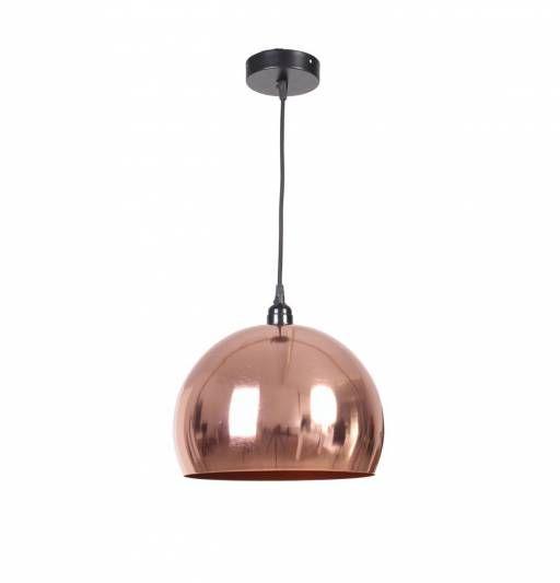 lmpara techo bola color cobre