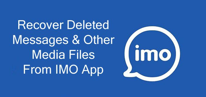 How To #Recover Deleted or Lost #IMOChat Content  1: From