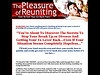 The Pleasure Of Reuniting (get Your Ex Back von knowledgegroup The Relationship Expert! Find out how to get your Ex Back or How to make your Guy marry you! www.lilmuse.com #fixrelationship #relationship #getexback #exback #love #lovehurts #findlove #exboyfriend #exgirlfriend #boyfriend #girlfriend #findgirl #findboy #cheating