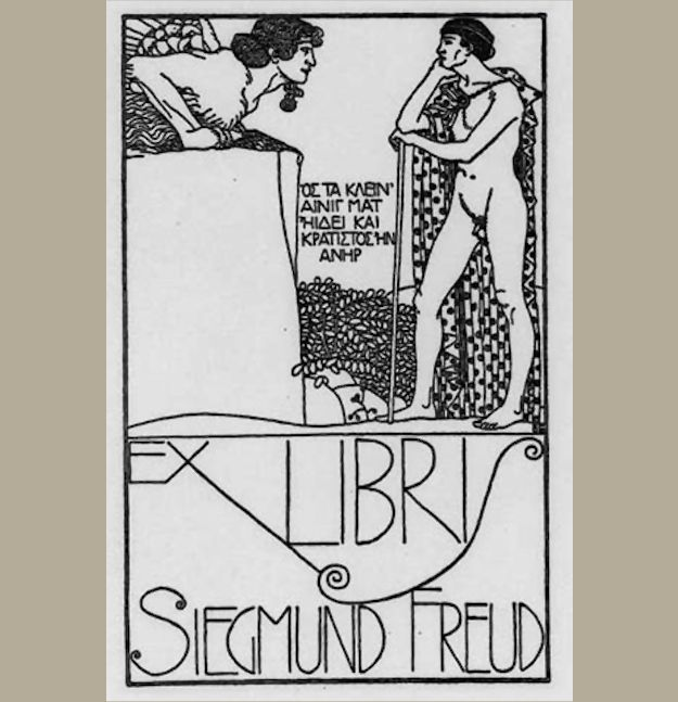 Sigmund Freud | Community Post: 35 Bookplates Belonging To Famous People