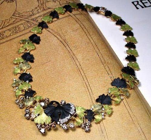 "Beautiful collection ""In the jewelry Garden"" by Japanese master Kunio Nakajima"