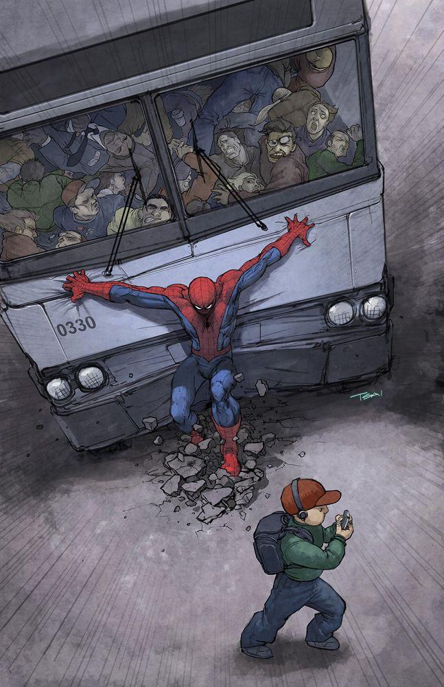 Spiderman, what a superhero.