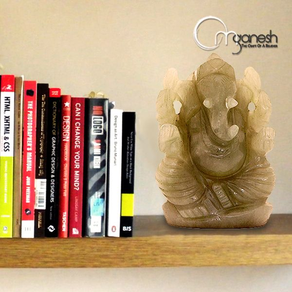 Ganesha the writer of the great epic Mahabharata, is always makes up a great dyad with books. It reflects Knowledge and Wisdom.
