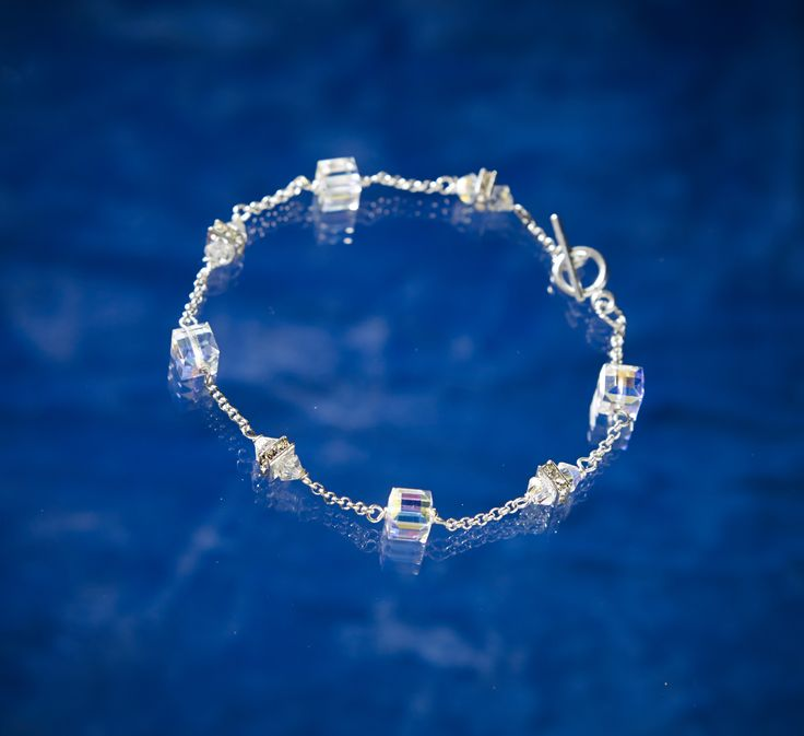 Simpliity Bracelet from Arctic Ice Jewels, Northern Lights Collection. Pretty and saves Polar Bears. CLICK the link or picture to see how. www.ArcticIceJewels.com