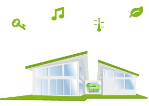 Chytrý dům - ukázky, reference   Loxone