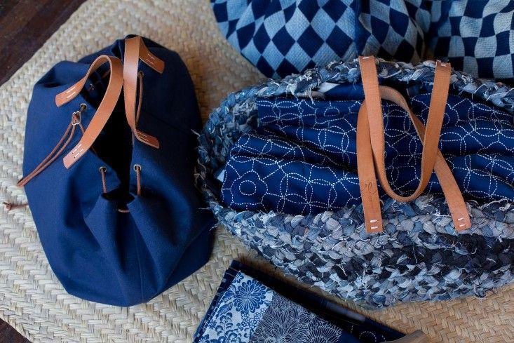 small trade company indigo bags: Remodelista