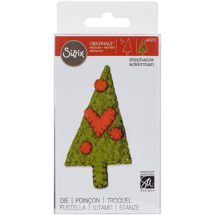 Sizzix Originals Die-Christmas Tree #3 - christmas tree #3