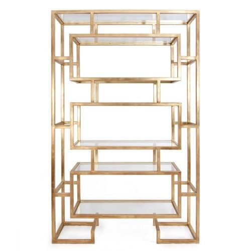 ANITIQUE GOLD ETAGERE, Chinoiserie, Asian Style, Bookcase, HOLLYWOOD REGENCY