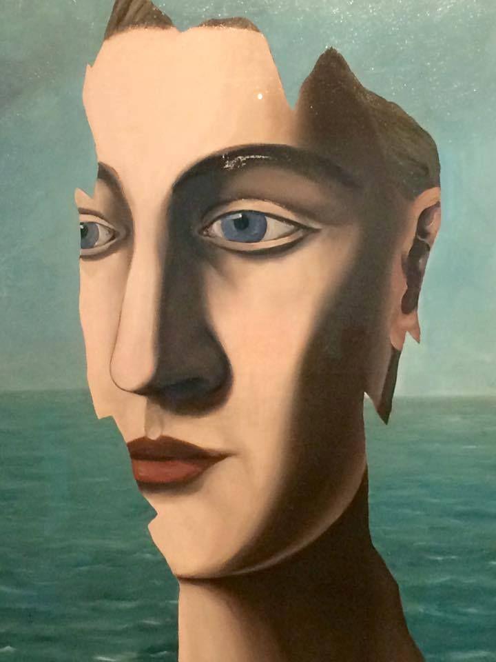 René Magritte - The Double Secret (Detail), 1927