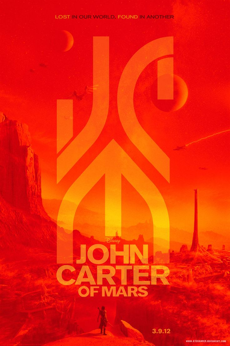 Alternate Universe JOHN CARTER OF MARS Poster 2 by A13XANDER on ...