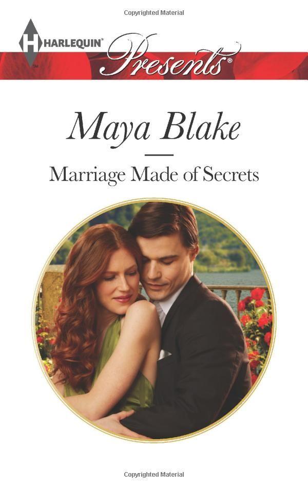 Marriage Made of Secrets (Harlequin Presents): Maya Blake: 9780373131884: Amazon.com: Books