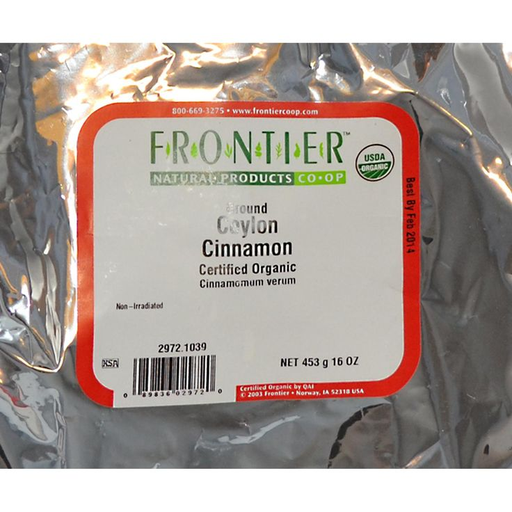 Frontier Natural Products Organic Ground Ceylon Cinnamon