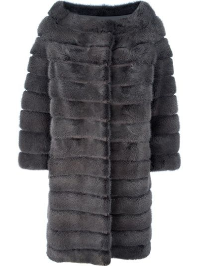 Finally some young looking fur! MAVINA Mink Fur Coat