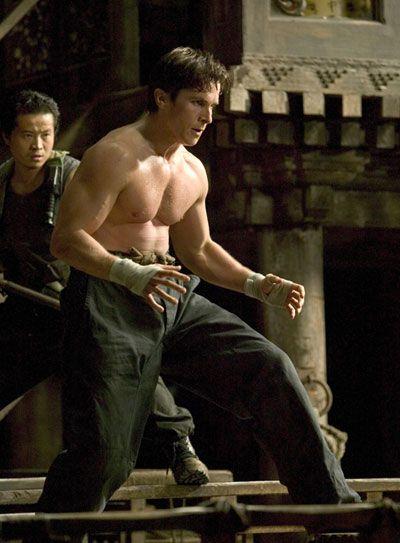 Christian Bale Dark Knight .....OHH my gosh...sooo hotttt and his hair is gorg!!