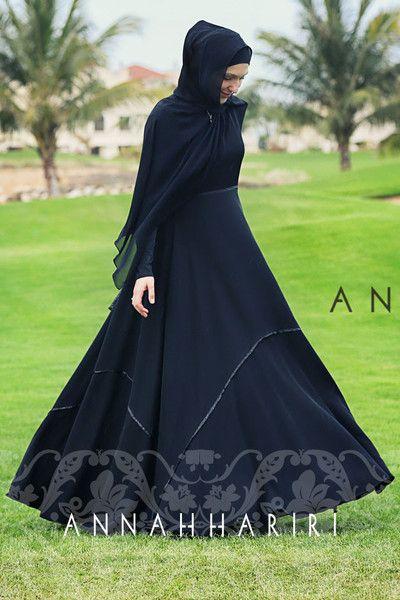 Modest wear - Black abaya eid outfit