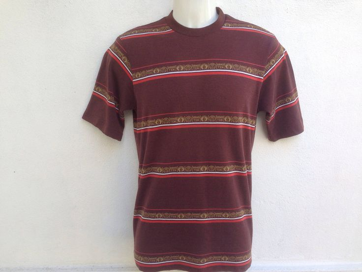 Vintage Hang Ten Tshirt | Hang Ten Stripped Tshirt | Hang Ten Small Logo Tshirt by TwoNineVintageStore on Etsy