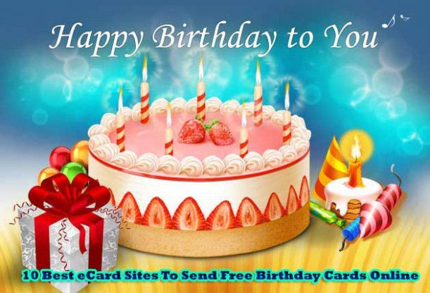 Send Happy Birthday Card Online Free Send Happy Birthday Card