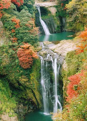矢部(南外輪山)の滝