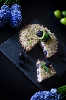 """Raw blackberry cheesecake. Many people mistakenly believe that a vegan diet especially a raw vegan diet is boring. Well that is until they are introduced to raw vegan desserts. Not only are raw vegan desserts way more nutrient rich than traditional desserts and they are wonderfully tasty. Your non vegan friends won't even be concerned with a lack...</p><p><a class=""""more-link"""" href=""""https://deviliciouslyraw.com/2016/05/12/blackberry-cheesecake/"""">Read More »</a></p>"""