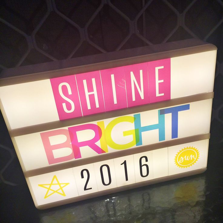 Shine bright with the new Heidi Swapp Lightbox