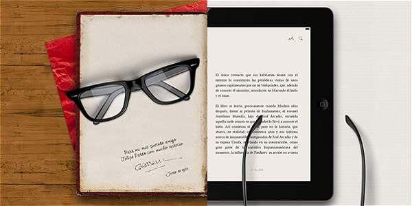 Interactivo que muestra las diferencias entre la lectura en impreso y la lectura en digital