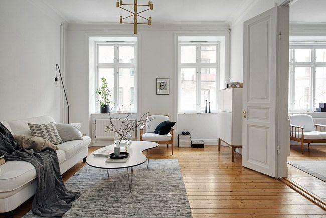 Appartement rénové style scandinave 2