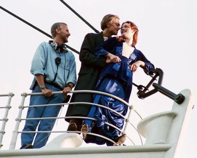 James Cameron being a third wheel