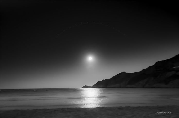 Photo Mania Greece: August moon 2014, Serifos Greece - M4537