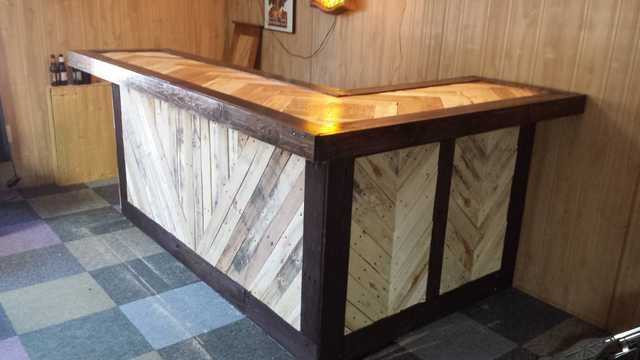 $34 Pallet Bar Build - Imgur