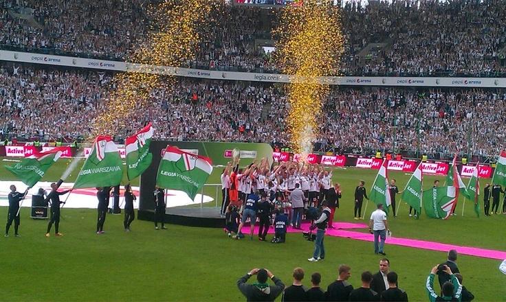 Legia Warszawa Mistrz Polski 2013-2014