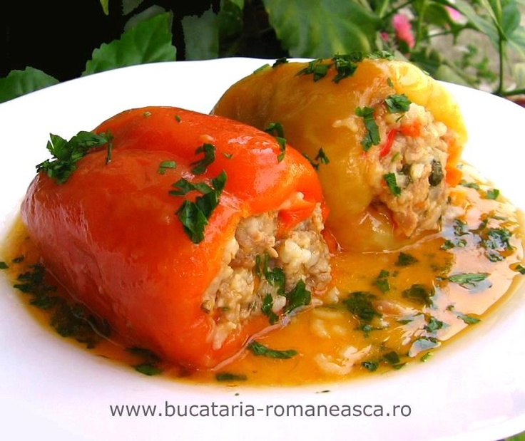 Romanian Stuffed Peppers!