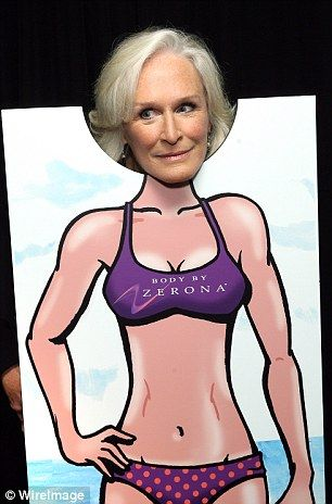 Glen Close in the Zerona Hot Body at the 2012 Emmy Awards
